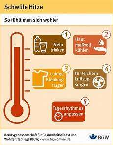 Bg Gesundheitsdienst Und Wohlfahrtspflege Wie Mit Schw 252 Ler Hitze Am Besten Klarkommt Presseportal