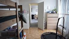 minimalist apartment for a family of family of 5 living tiny in a 1 bedroom apartment
