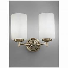 franklite lighting fl2253 2 2 light bronze wall light with opal glass shades lighting from the franklite fl2253 2 decima 2 light wall fitting with opal