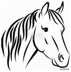 Malvorlage Pferd Umriss Bildergebnis F 252 R Pferdekopf Pferdekopf Pferde