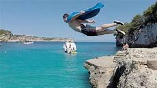 cliff jumping mallorca 2014 hd youtube