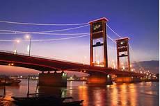 Travel Era Bridge In Palembang