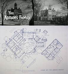 addams family house plan the addams family home at 0001 cemetery lane blueprints