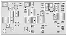 Cadillac Xts 2014 2015 Fuse Box Diagram Auto Genius