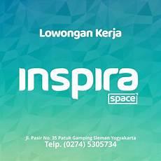 lowongan kerja quality lowongan kerja di inspira space yogyakarta ios