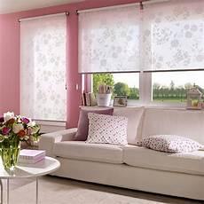 gardinen rollos wohnzimmer vorhang rollo kombination 1ehrlich mit rollos auf der