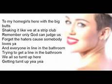 we can t stop miley cyrus we can t stop lyric