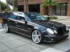 Mercedes W211 E55 Amg On 20inch Vossen Wheels