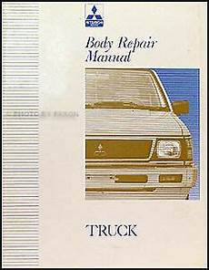 books about how cars work 1992 mitsubishi truck electronic throttle control mitsubishi truck body shop manual 1992 1993 194 1995 1996 mighty max pickup book ebay