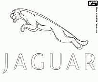 Logo Of Jaguar Coloring Page Printable Game