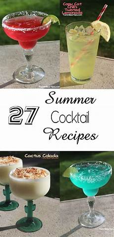 27 summer cocktail recipes