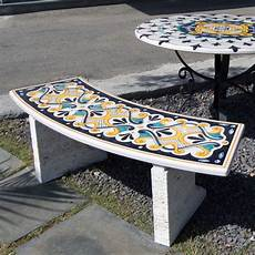 panchine pietra panchine da giardino in pietra lavica decorate artesole