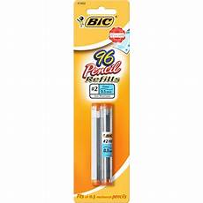 alublech 0 5 mm bic lead refills 0 5mm black 96 pack walmart