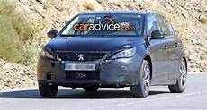 2017 Peugeot 308 Facelift Spied Photos 1 Of 9