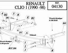attelage clio 1 attelage renault clio vente attelage renault clio