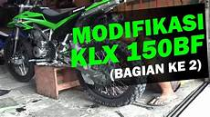 Klx Modif Enduro by Modifikasi Kawasaki Klx 150bf Adventure Trail Enduro