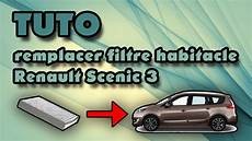 filtre a habitacle tuto remplacer filtre habitacle renault sc 233 nic 3 how to
