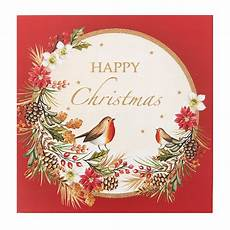 robin in a wreath christmas cards of 10 marie curie online charity shop