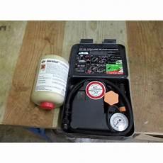 Kit Anti Crevaison Avec Compresseur Ideal Pour Vehicule