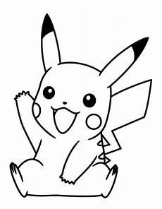 Ausmalbilder Pikachu Kostenlos Pikachu Ausmalbild Malvorlage Gratis