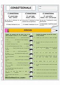 read the grammar explanation and complete the tasks using conditional clauses esl worksheets