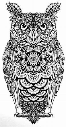 Ausmalbilder Eule Mandala 818 Best Coloring Owls Images On Coloring