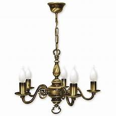 chandelier 5 arms traditional ceiling light brass finish candle ebay