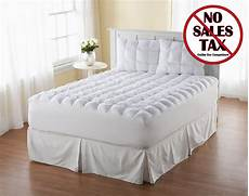 new top magic loft bedding cover queen size pillow mattress topper comforter pad ebay