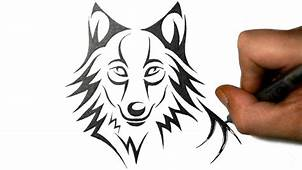 Cool Wolf Drawings Easy  3 Decoration Drawing