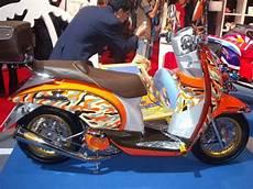 Variasi Motor Scoopy by Variasi Modif Honda Scoopy Arif Setiawan S