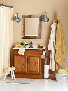 bathroom ideas oak decorating with oak cabinets better homes gardens