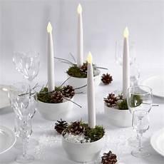 decorazioni con candele decorazioni natalizie con candele led guida fai da te