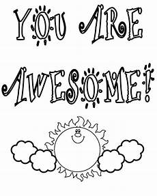 you are awesome coloring sheet thank you coloring pages only coloring pages