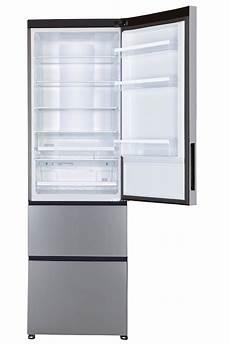 Refrigerateur 2 Portes Sans Congelateur Refrigerateur Congelateur En Bas Haier A2fe635cfj Inox En