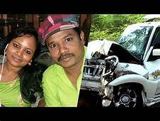 Comedy Actor Madurai Muthus Wife Died In Car Accident