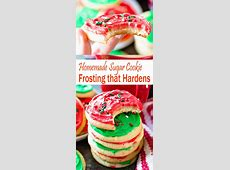 cookie icing frosting that hardens_image