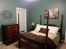 new spare bedroom moody blue by sherwin williams