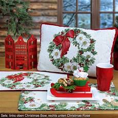 Tischsets Weihnachtsen Und Weihnachtskissen Sander