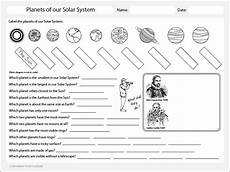 planets of the solar system worksheet studyladder interactive learning games