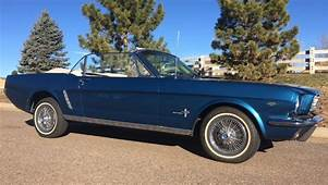 1964 1/2 Mustang Convertible Rare 289 D Code V8 Power