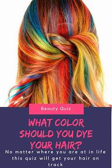 Find Best Hair Color Quiz what color should you actually dye your hair hair color