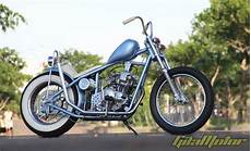 Scorpio Modif Harley by Modifikasi Yamaha Scorpio 2006 School Chopper Never