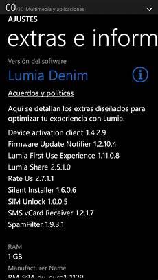 la actualizaci 243 n lumia denim comienza a llegar a los