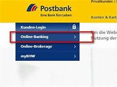 Postbank Login Login Seite