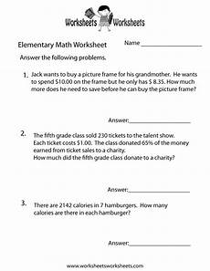 free math word problem worksheets for grade 3 11483 elementary math word problems worksheet free printable educational worksheet math word