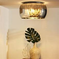 deckenleuchten flur runde deckenleuchte pearl in schwarz 400mm wohnzimmer