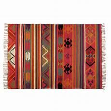 Tapis Ethnique En Multicolore 140x200cm Kilima