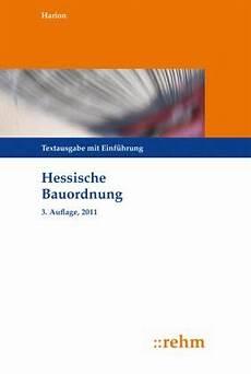 hessische bauordnung hessische bauordnung hbo fachbuch buecher de