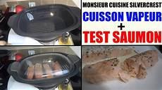 recette saumon vapeur monsieur cuisine silvercrest lidl et