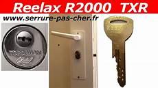 changer le cylindre d une serrure comment changer le cylindre reelax txr d une serrure
